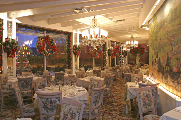 The Park Room's murals will be part of the auction.