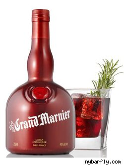 Cheery Cherry Red Grand Marnier Bottle