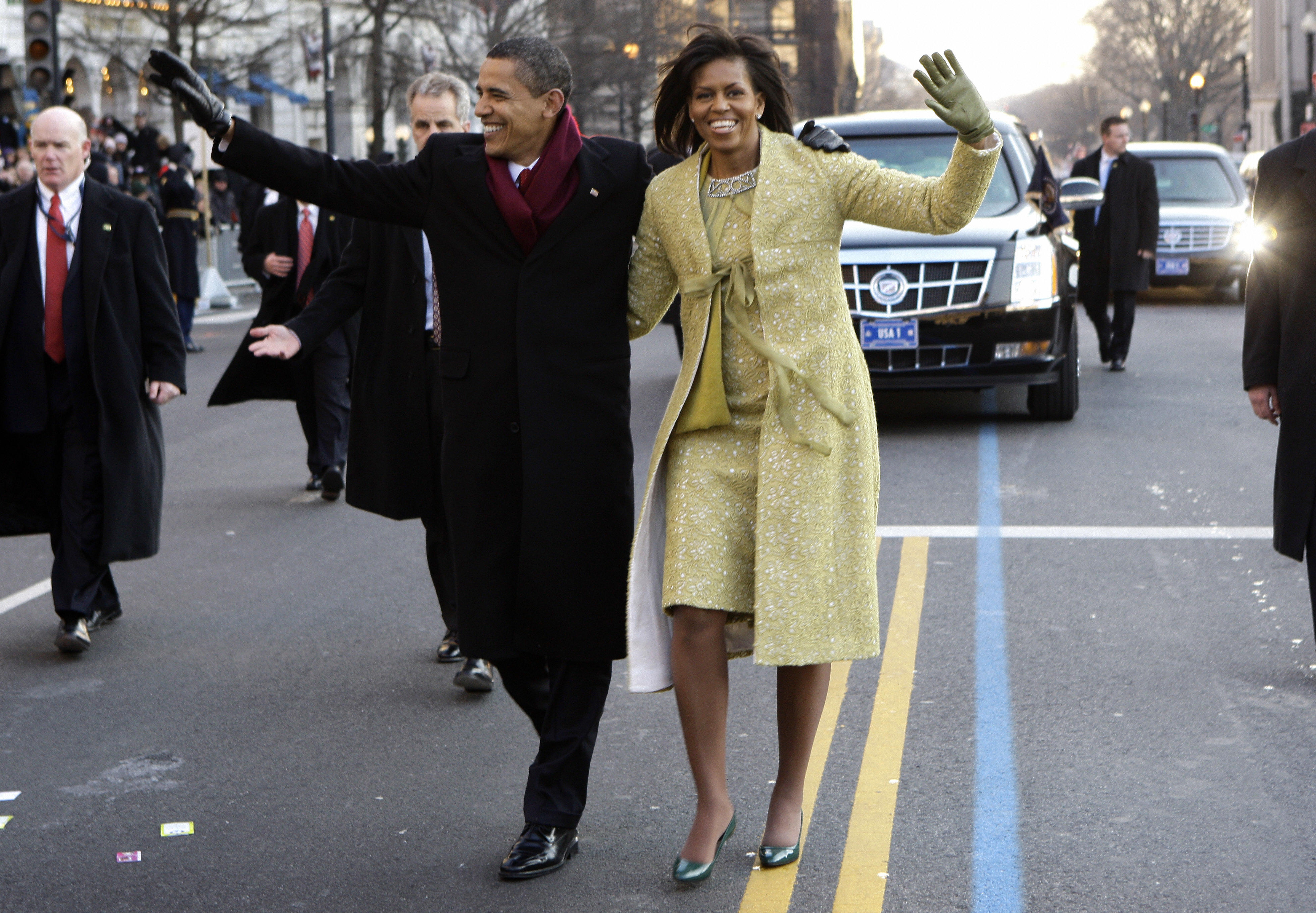 1. Michelle Obama's Inauguration Day Outfit
