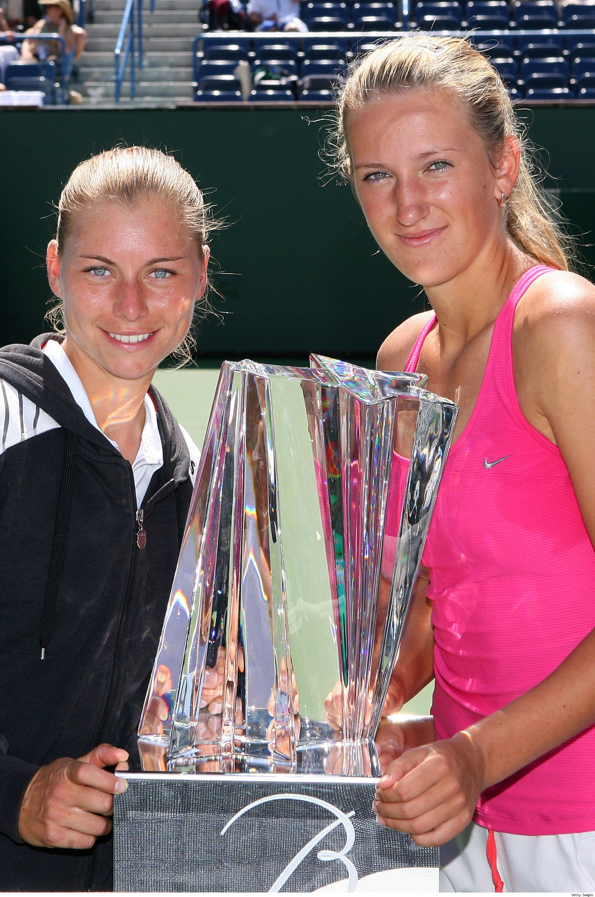 Vera Zvonareva and Victoria Azarenka