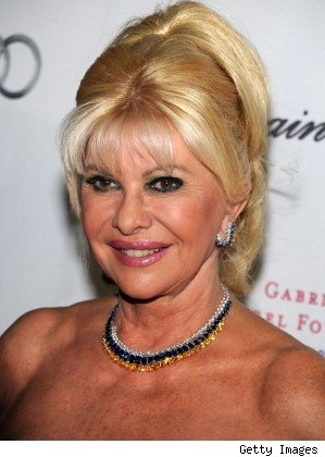 Ivana Trump removed from Palm Beach Plane