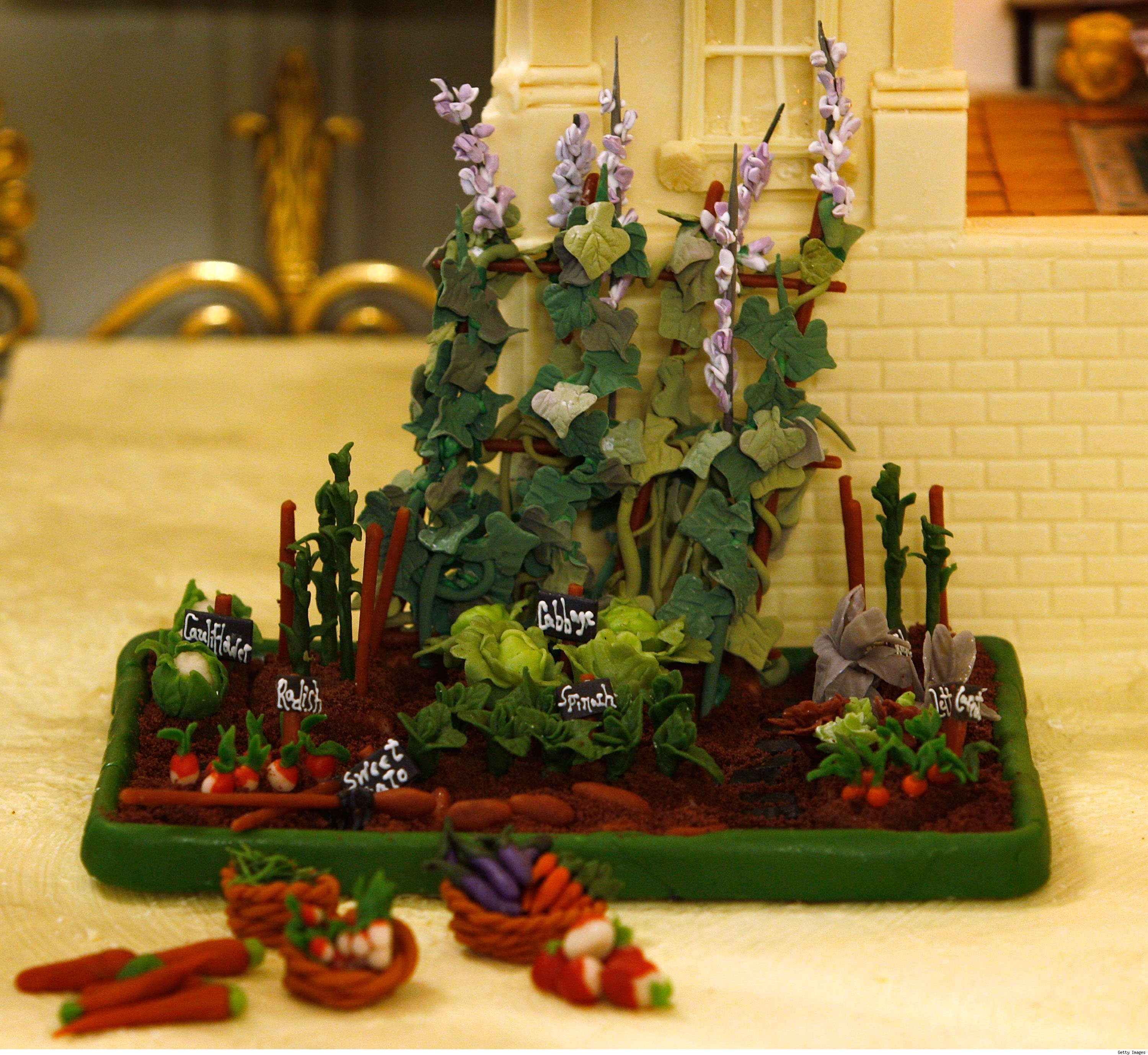 Marzipan Vegetable Garden