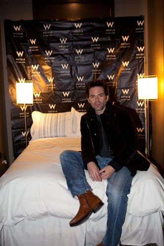 Billy Burke at the W Hotel-Times Square