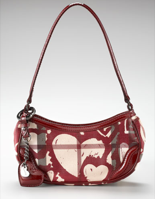 Burberry Painted Hearts Handbag