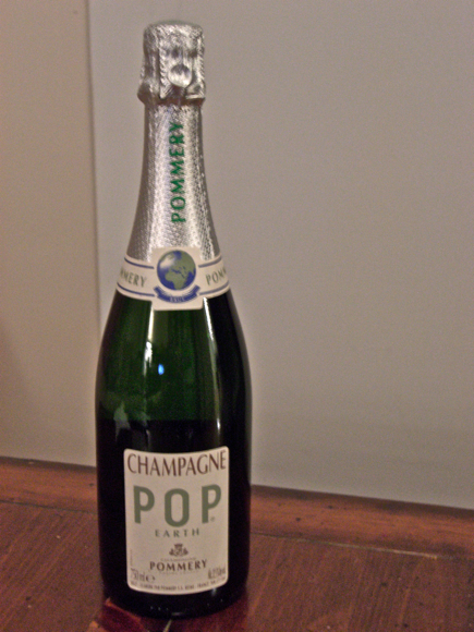 10. Eco-Friendly Pommery POP Earth Champagne