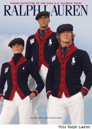 Polo Ralph Lauren's Olympian wear