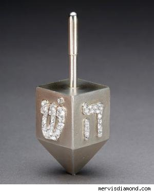 $1,800 Diamond Dreidel