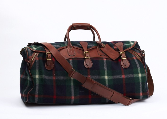 Ralph Lauren Tartan Duffel