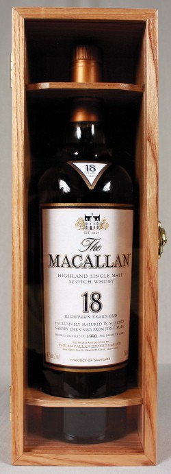 7. Macallan Sherry Oak 18 Year