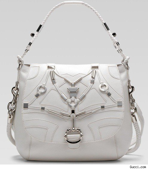 Techno Horsebit Flap Bag, Most Elegance Handbag
