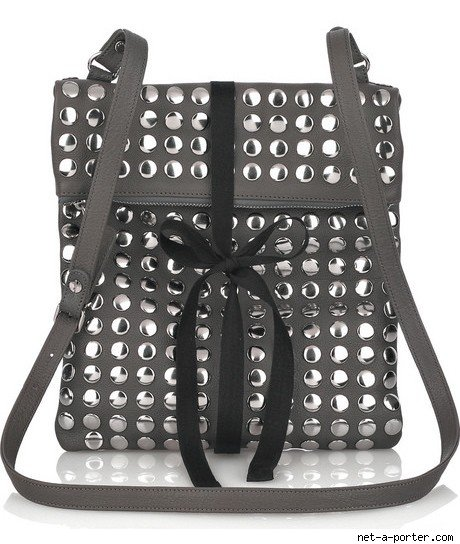 Marni Studded Leather Tote Handbag