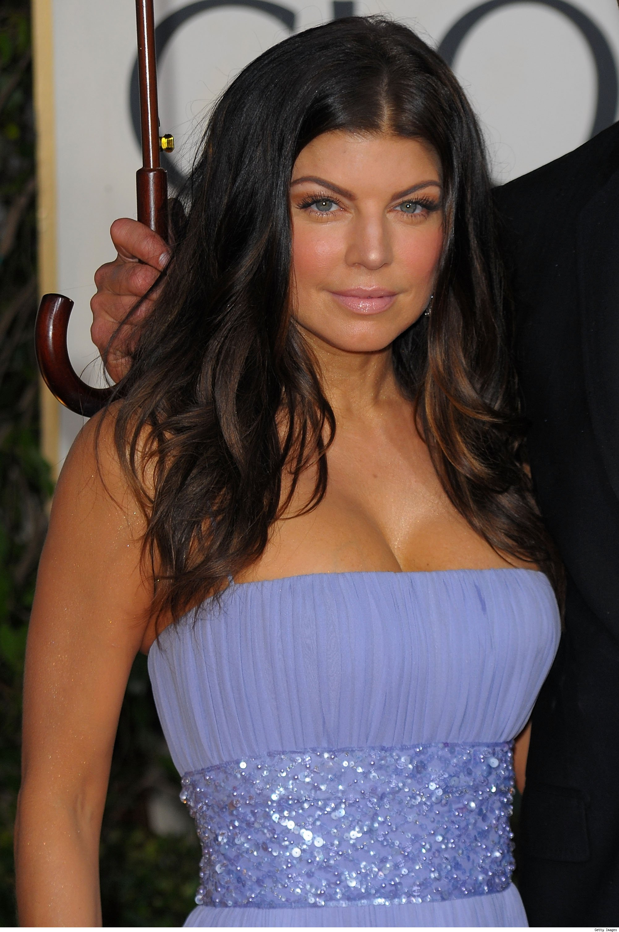 Fergie at the Golden Globes