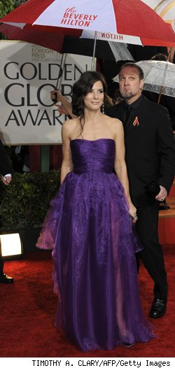 Sandra Bullock at the 2010 Golden Globes