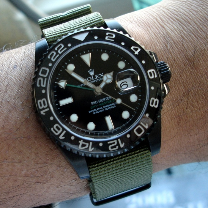 Pro-Hunter Rolex GMT-II
