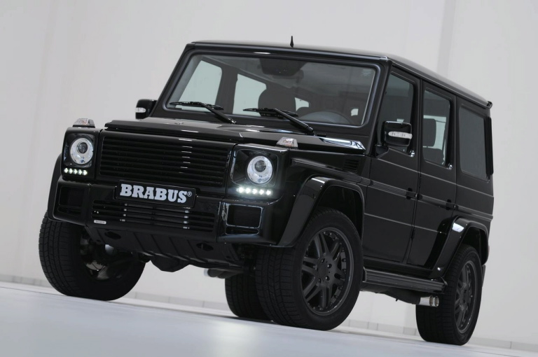 Mercedes-Benz G55 AMG with Brabus Optics