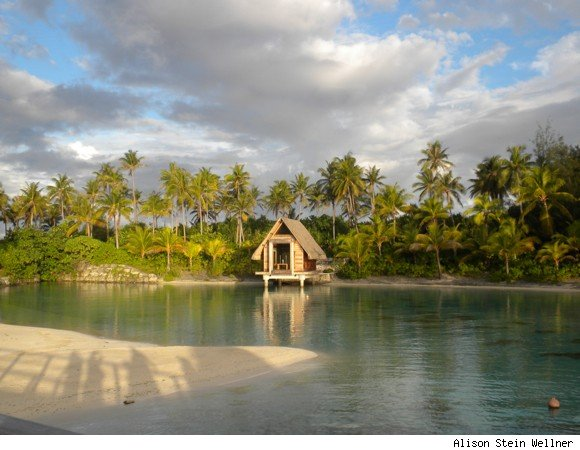 InterContinental Bora Bora's Wedding Chapel