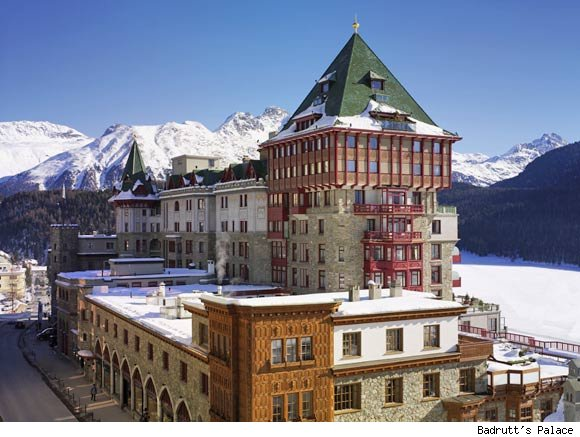 Badrutt's Palace in St. Moritz, Switzerland