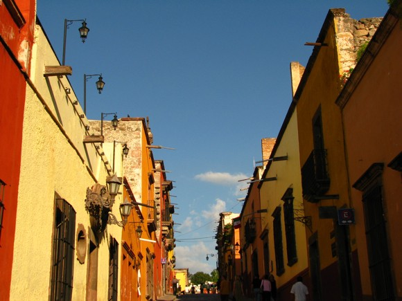 San Miguel de Allende's Narrow Steep Streets