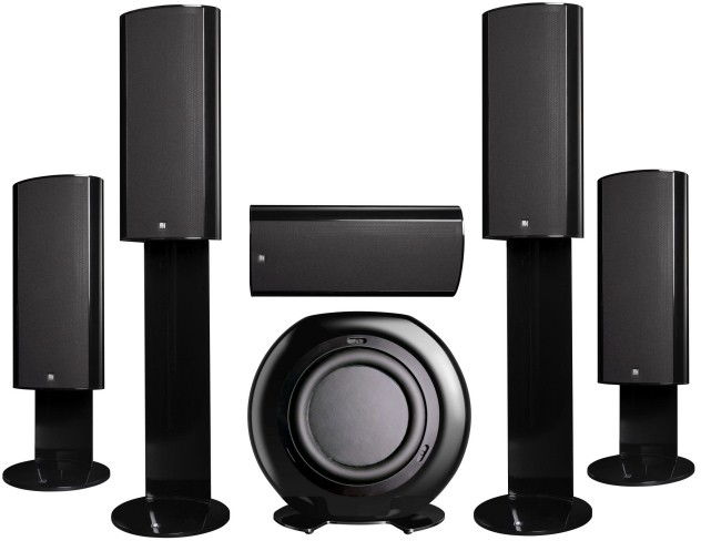 Infocus SP8602 Projector and KEF KHT 9000 ACE speakers