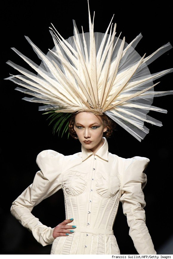 The personality of hats page 3 for American haute couture designers
