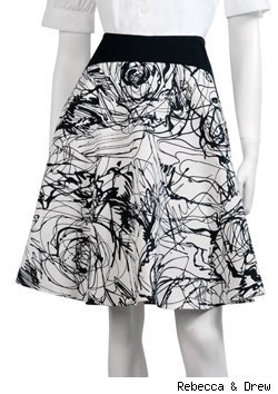 Scribble Skirt