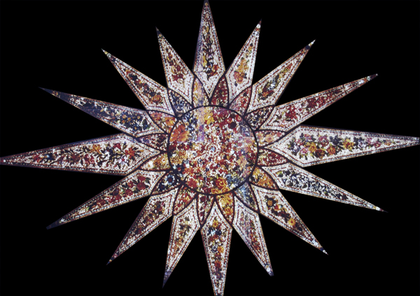The Starburst Tiffany Glass Ceiling