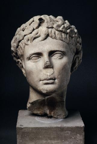 Portrait of Emperor Augustus
