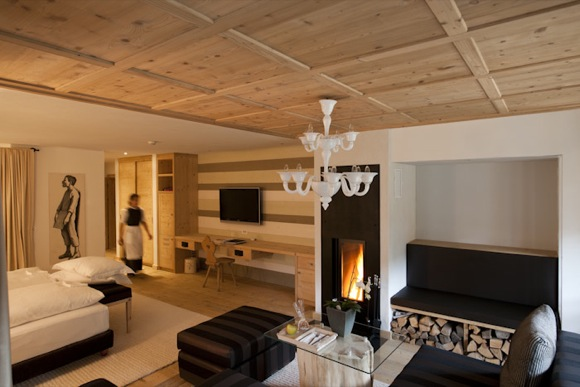 Chalet Loft Suite at Rosa Alpina