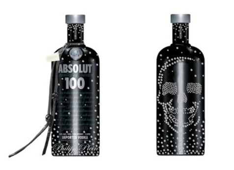 Absolute Vodka Swarovski Bottle