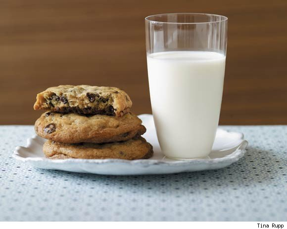 Cookies and Milk at Baked