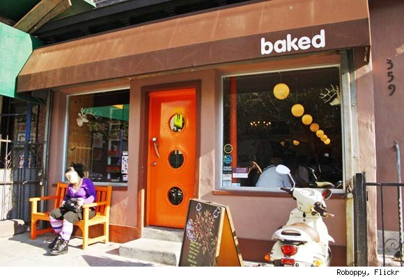 The Exterior of Baked