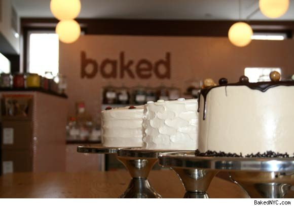 The Interior of a Baked bakery.