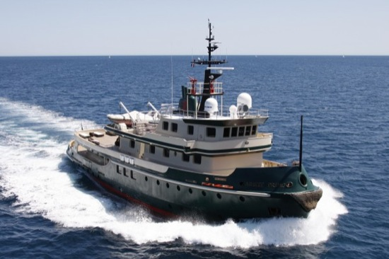 Ariete Primo Luxury Yacht Tugboat