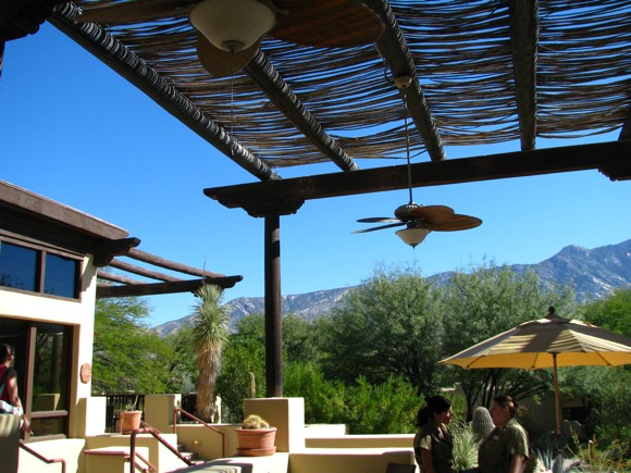 Dining Area at Miraval