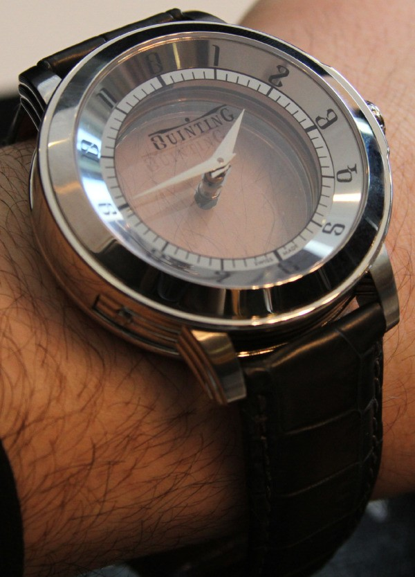 Transparent Expensive Watch
