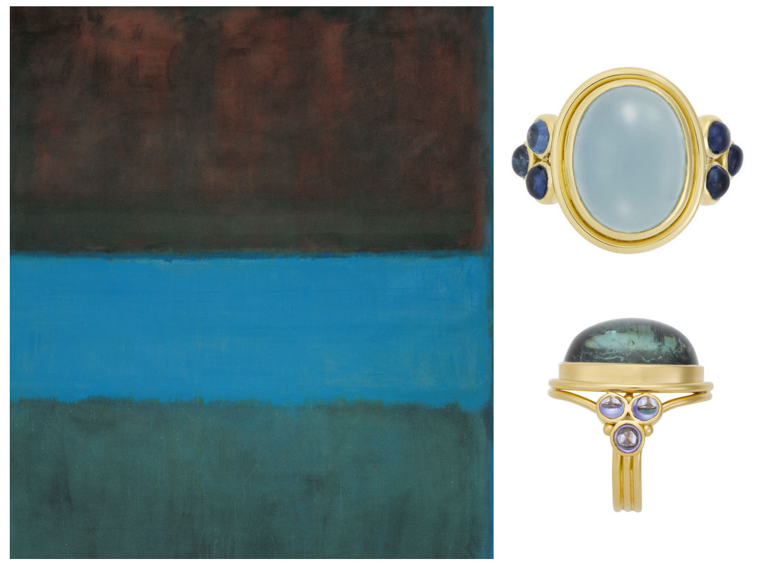 Mark Rothko and Temple St. Clair