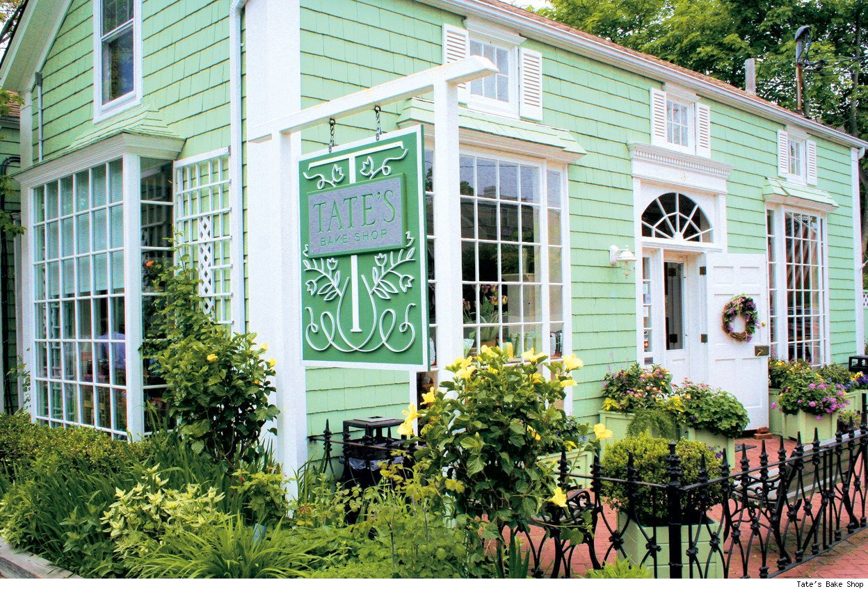 The exterior of Tate's Bake Shop in Southampton, N.Y.