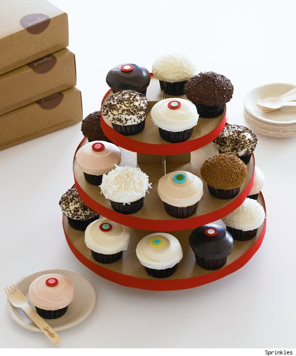 Sprinkles Cupcakes wins the Luxist Awards' Editors' Choice Award for Best Sweets.