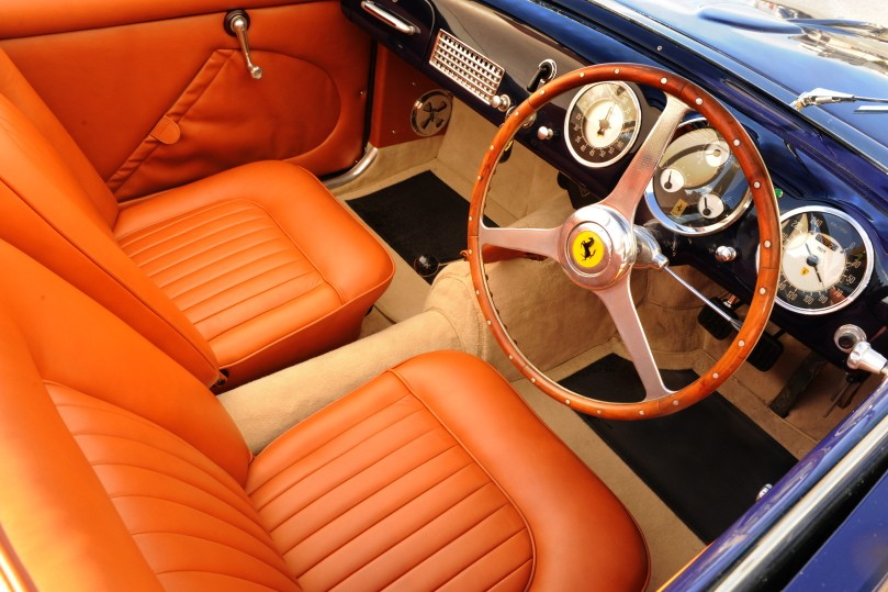 1950 Ferrari 166/195S interior