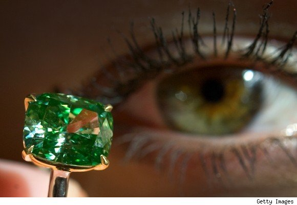 A Rare Green Diamond