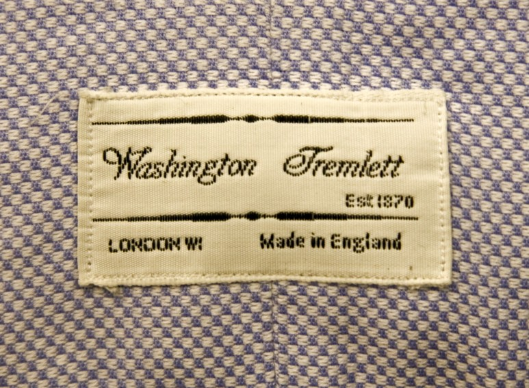Washington Tremlett shirts