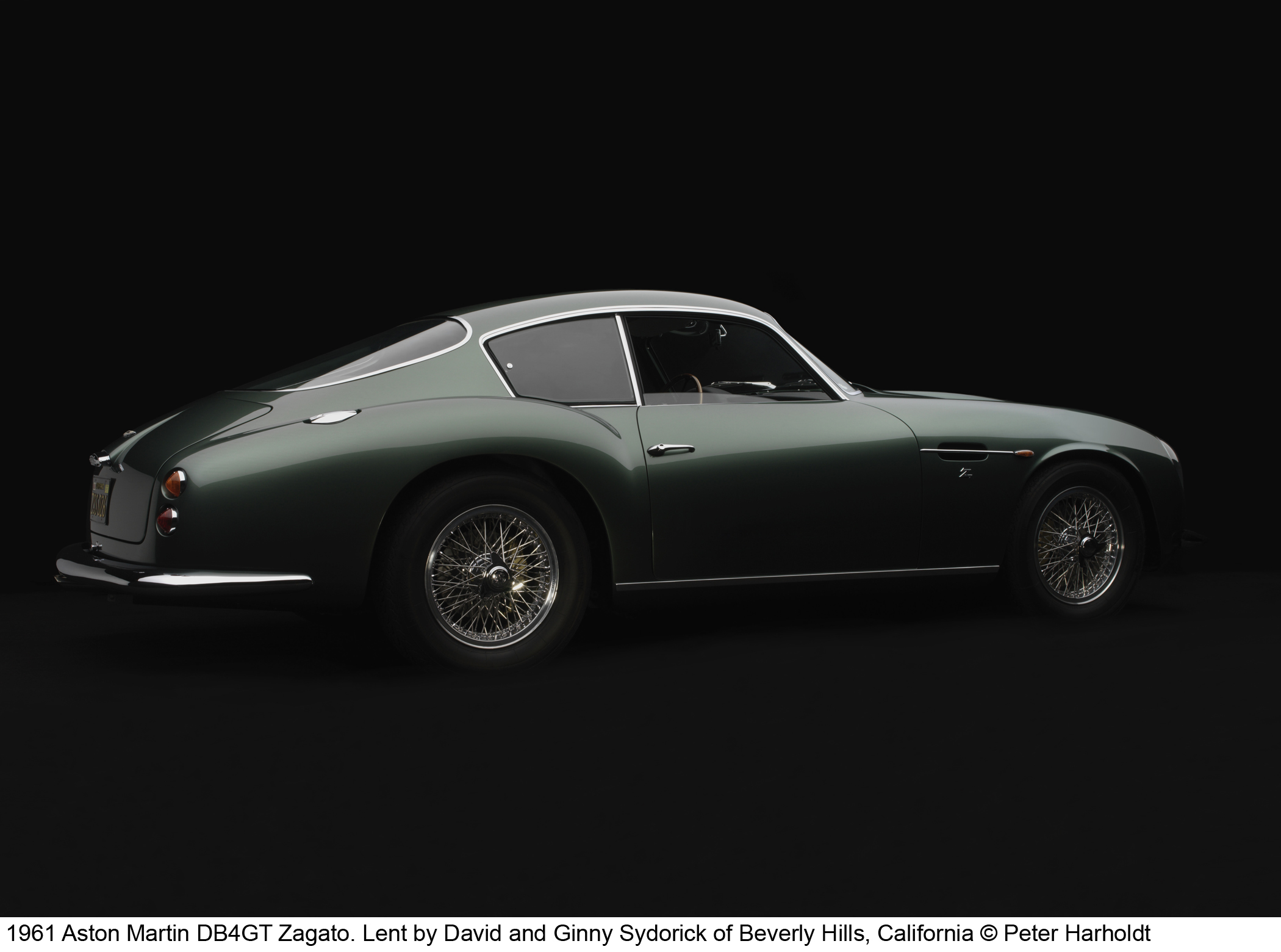 961 Aston Martin DB4GT Zagato
