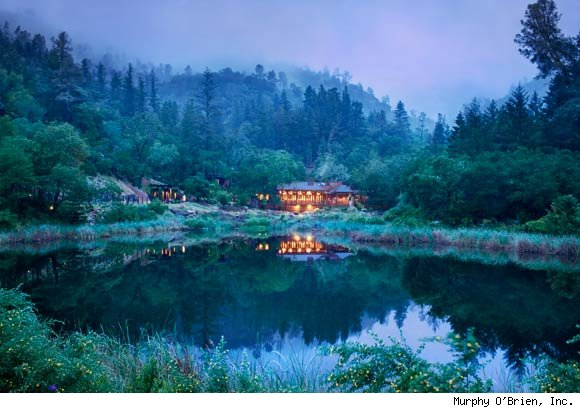 Calistoga Ranch Wins Best Green Spa Award