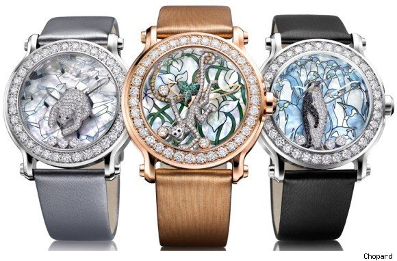 chopard animal world watches