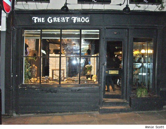 The Great Frog, London