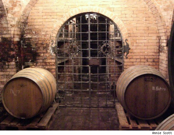 A peek into the cellar