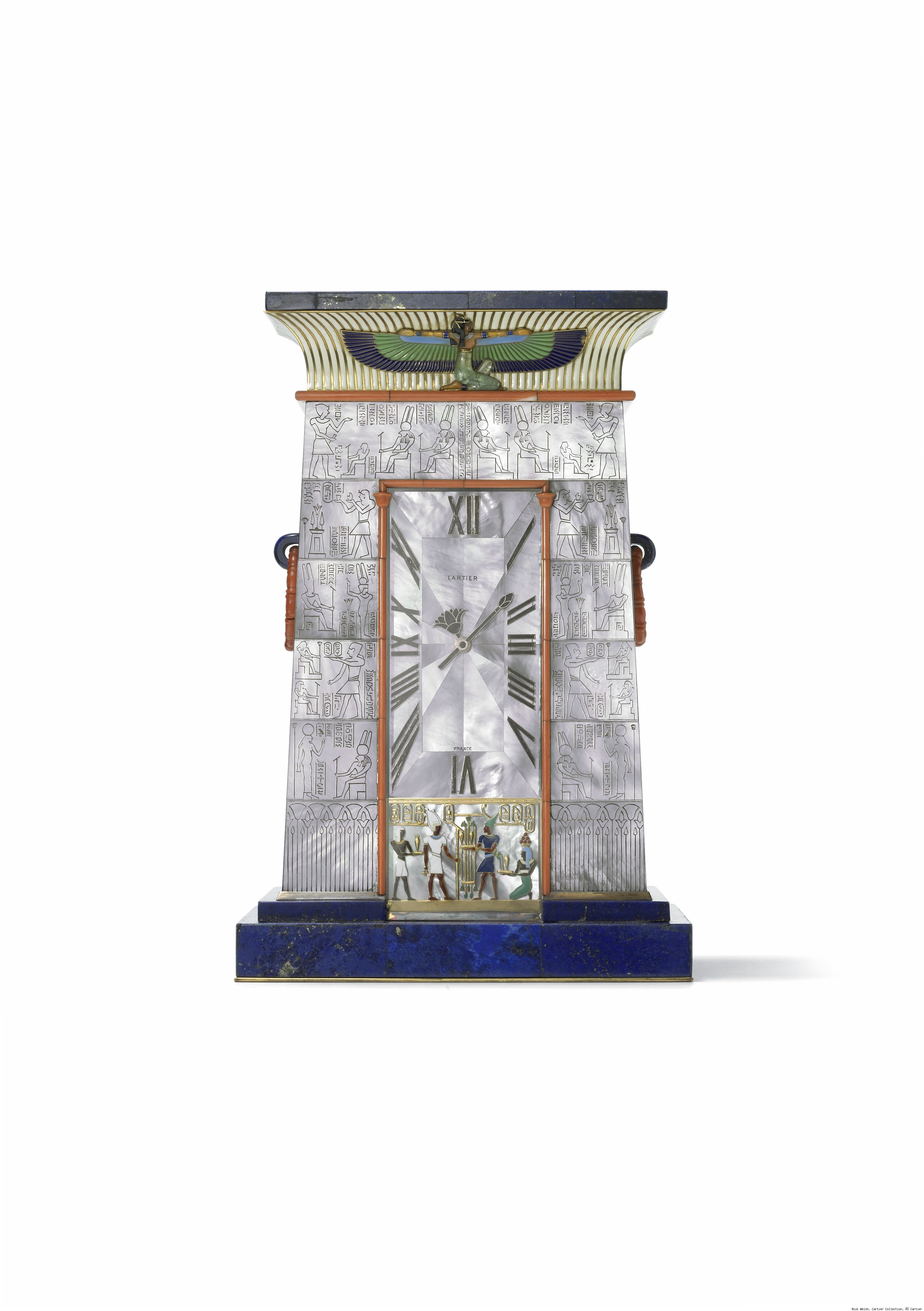 Cartier Egyptian Clock