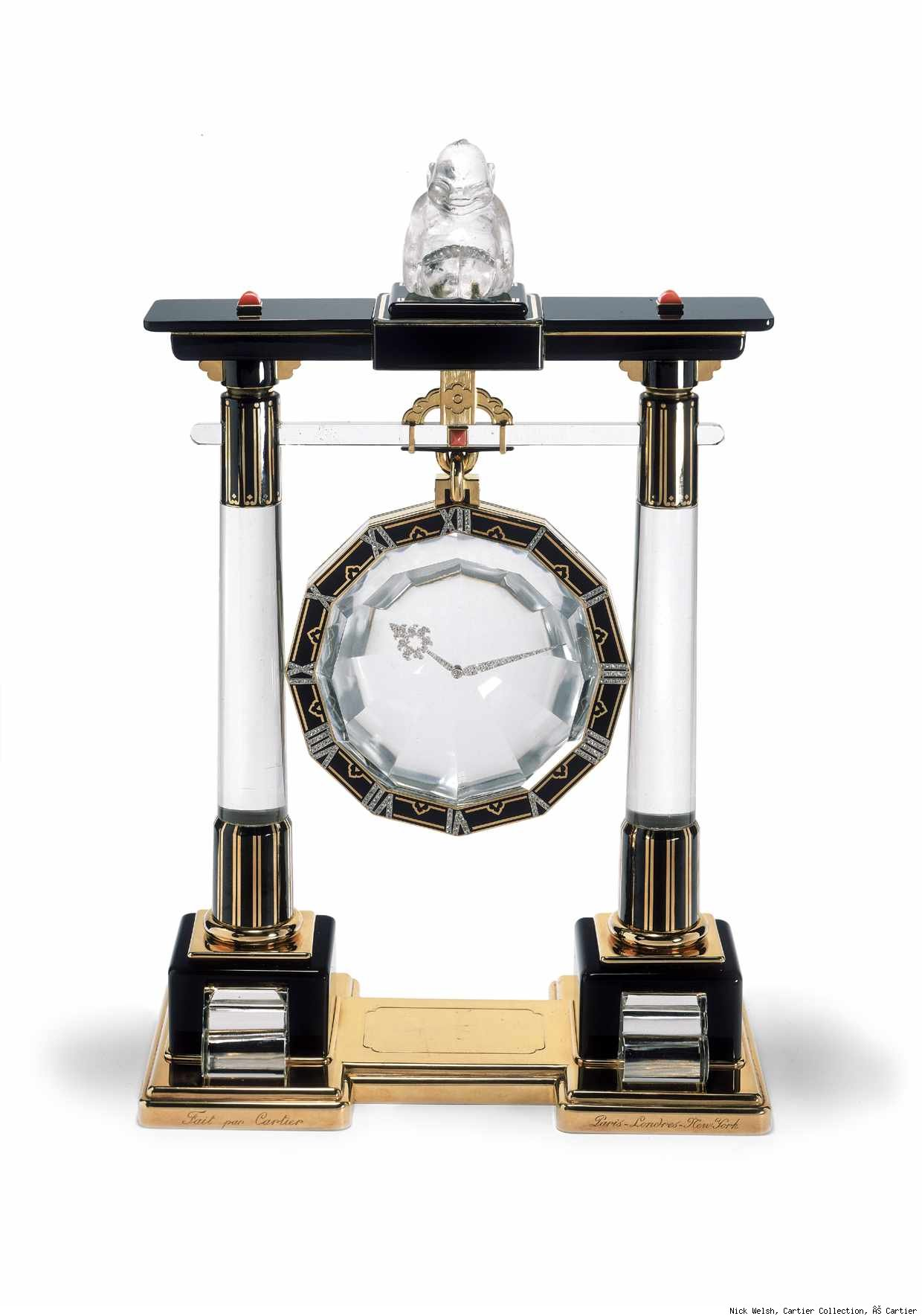 Cartier Mysterieuse Clock