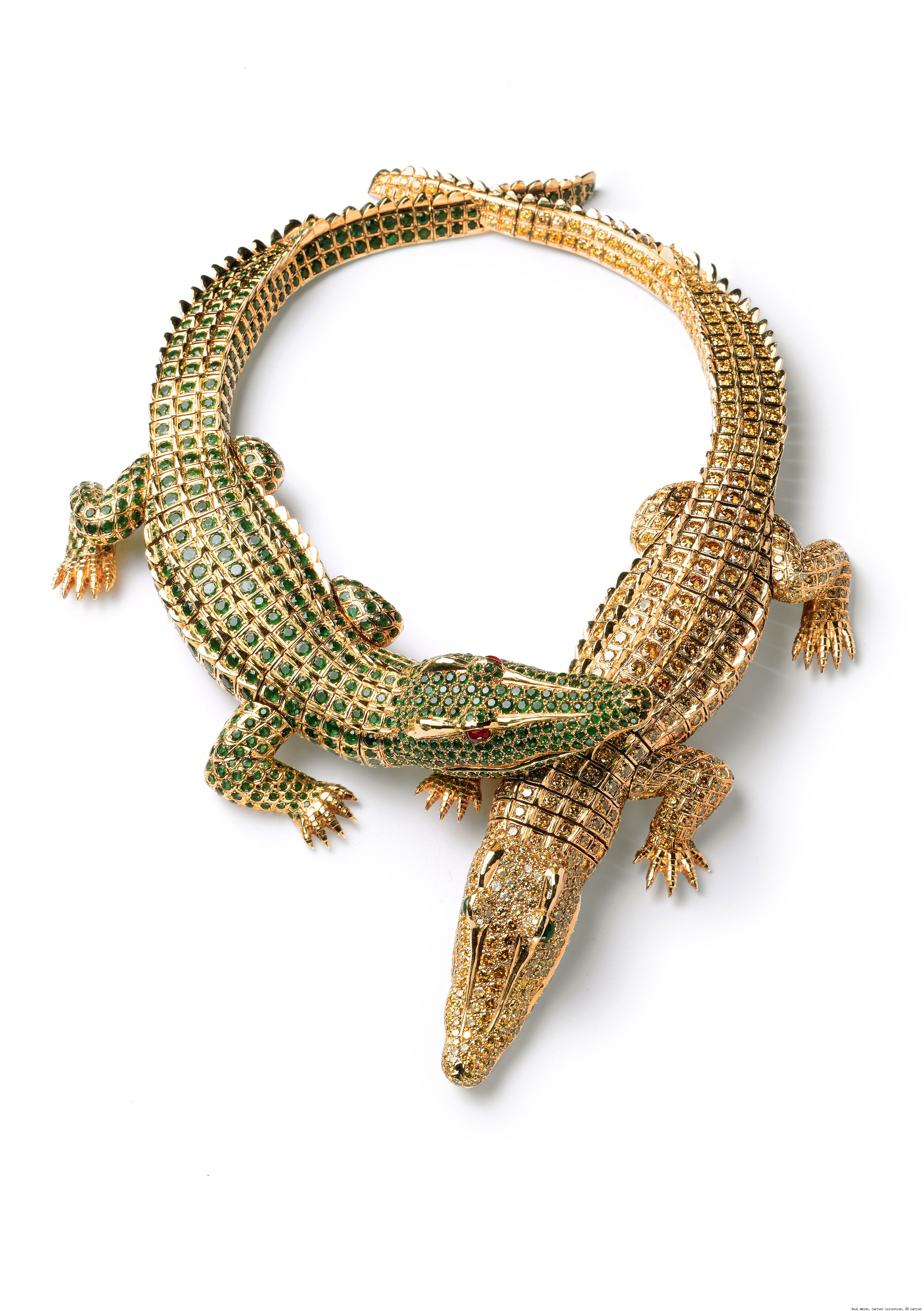 Crocodile Necklace