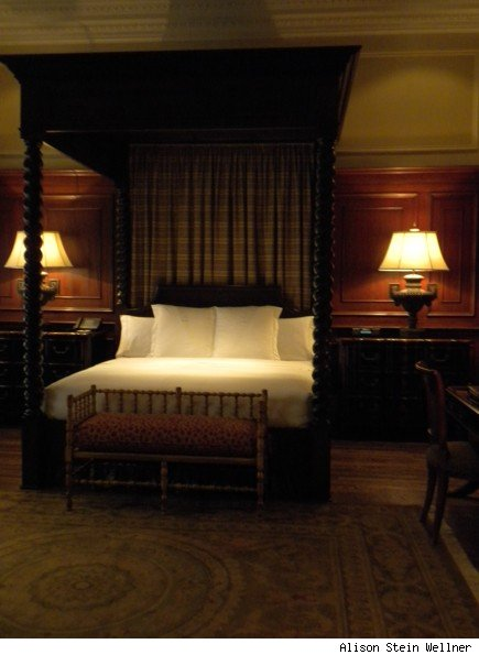 John W. Hopkins Suite Bedroom